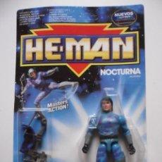 Figuras Masters del Universo: HE-MAN THE NEW ADVENTURES NOCTURNA EN BLISTER MATTEL ESPAÑA 1990. Lote 218518921