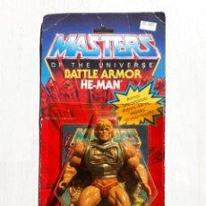 Figuras Masters del Universo: MASTERS DEL UNIVERSO HE MAN ARMADURA DE COMBATE BATTLE ARMOR ARMADURA DE COMBATE SIN ABRIR. Lote 218583638