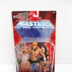 Figuras Masters del Universo: HE-MAN JUNGLE ATTACK - HE MAN MASTERS DEL UNIVERSO - MATTEL 2002 - NUEVO. Lote 219174568