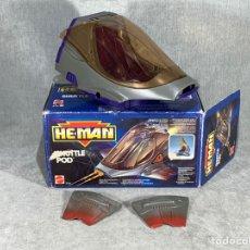 Figurines Maîtres de l'Univers: VEHÍCULO SHUTTLE POD - HE MAN - MASTERS DEL UNIVERSO - MOTU - MATTEL ESPAÑA 1990 -. Lote 220793352
