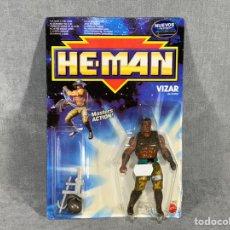 Figurines Maîtres de l'Univers: VIZAR - HE-MAN - MASTERS DEL UNIVERSO - MOTU - MATTEL ESPAÑA 1990. Lote 220794350