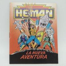 Figuras Masters del Universo: MINI CÓMIC Y CATÁLOGO DE HE-MAN, MASTERS DEL UNIVERSO MATTEL DE 1990 LA NUEVA AVENTURA. Lote 221649873
