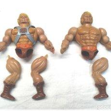 Figuras Masters del Universo: LOTE 2 HE MAN ORIGINAL DE MATTEL AÑO 1981 MASTERS DEL UNIVERSO. Lote 221961298