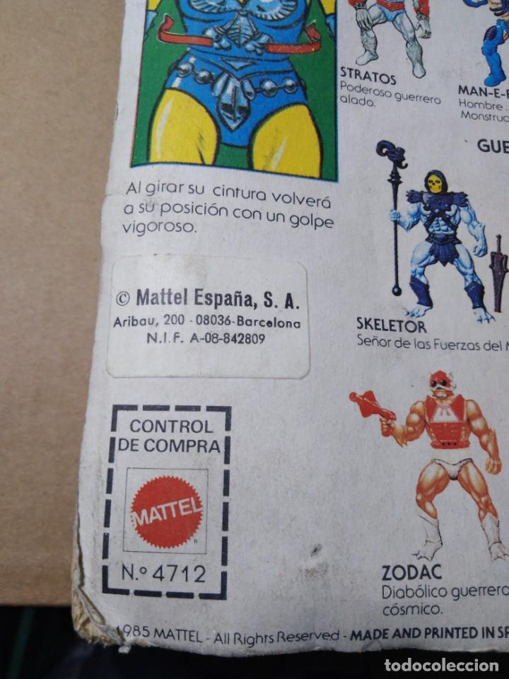 Figuras Masters del Universo: BLISTER MASTERS DEL UNIVERSO EVIL LYN BLISTER ESPAÑOL MATTEL 1985 MOTU SPAIN - Foto 12 - 222566853