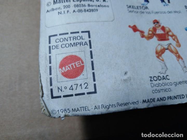 Figuras Masters del Universo: BLISTER MASTERS DEL UNIVERSO EVIL LYN BLISTER ESPAÑOL MATTEL 1985 MOTU SPAIN - Foto 13 - 222566853