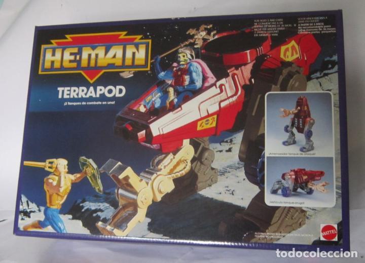 NAVE HE MAN TERRAPOD, DE MATTEL, EN CAJA. CC (Juguetes - Figuras de Acción - Master del Universo)