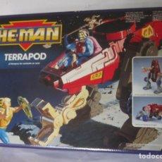 Figuras Masters del Universo: NAVE HE MAN TERRAPOD, DE MATTEL, EN CAJA. CC. Lote 222627028