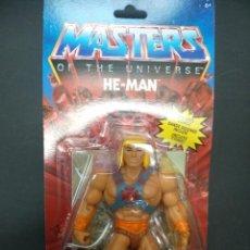 Figuras Masters del Universo: HE-MAN FIGURA 14 CM MASTERS OF THE UNIVERSE ORIGINS MATTEL. Lote 222702393