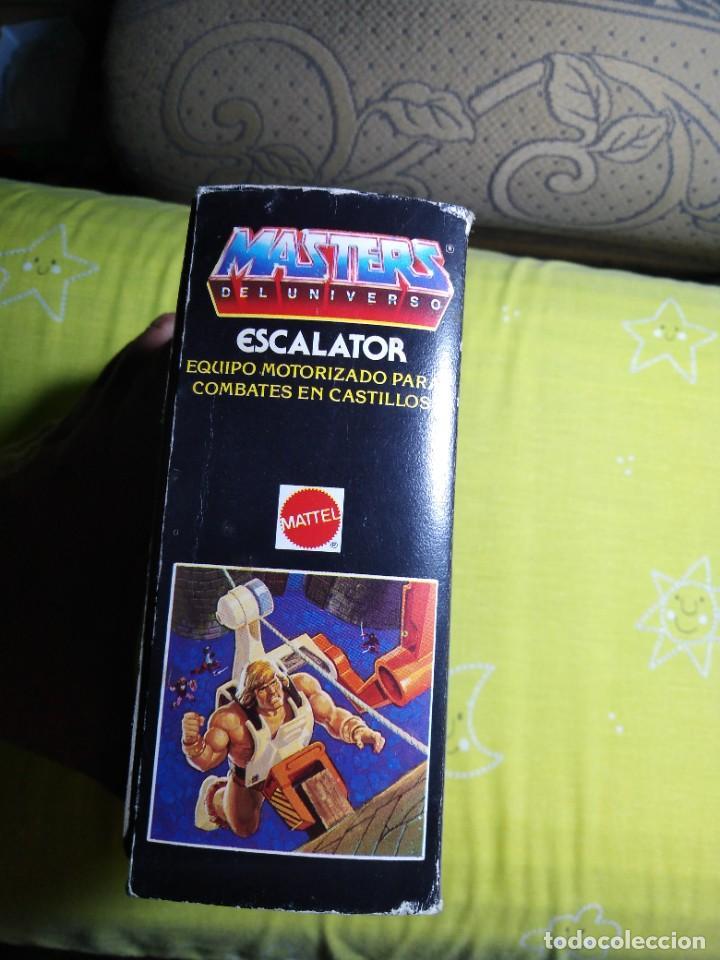 Figuras Masters del Universo: CAJA SIN ABRIR ANTIGUO ACCESORIO ESCALATOR MASTER DEL UNIVERSO HE MAN NUEVO EN CAJA ORIGINAL - Foto 2 - 223646968