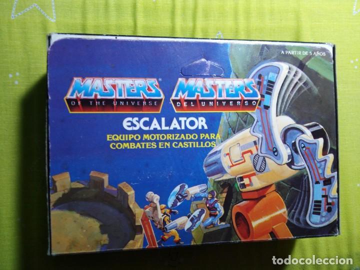 Figuras Masters del Universo: CAJA SIN ABRIR ANTIGUO ACCESORIO ESCALATOR MASTER DEL UNIVERSO HE MAN NUEVO EN CAJA ORIGINAL - Foto 3 - 223646968