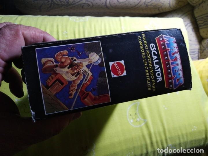 Figuras Masters del Universo: CAJA SIN ABRIR ANTIGUO ACCESORIO ESCALATOR MASTER DEL UNIVERSO HE MAN NUEVO EN CAJA ORIGINAL - Foto 4 - 223646968