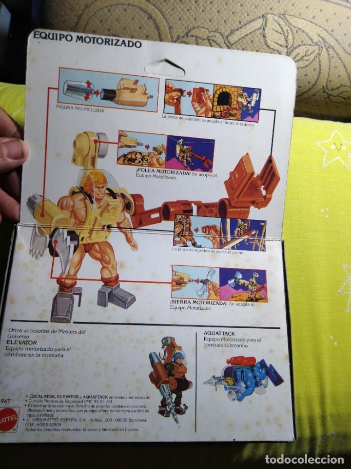 Figuras Masters del Universo: CAJA SIN ABRIR ANTIGUO ACCESORIO ESCALATOR MASTER DEL UNIVERSO HE MAN NUEVO EN CAJA ORIGINAL - Foto 6 - 223646968