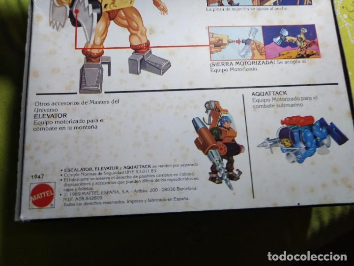 Figuras Masters del Universo: CAJA SIN ABRIR ANTIGUO ACCESORIO ESCALATOR MASTER DEL UNIVERSO HE MAN NUEVO EN CAJA ORIGINAL - Foto 7 - 223646968