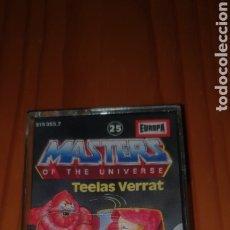 Figuras Masters del Universo: MASTERS OF THE UNIVERSE CINTA ORIGINAL ALEMANIA TEELAS VERRAT RAREZA. Lote 224257847
