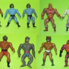 Figuras Masters del Universo: MASTERS DEL UNIVERSO, MOTU, HE-MAN AÑOS 80, LOTE DE 11 FIGURAS, ORIGINALES. Lote 237736095