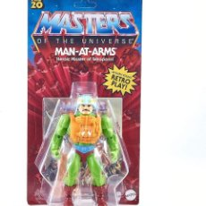 Figuras Os Masters do Universo: MAN-AT-ARMS MASTERS OF THE UNIVERSE ORIGINS MATTEL. Lote 227147430