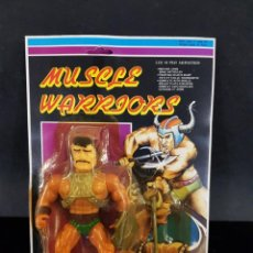 Figuras Masters del Universo: MUSCLE WARRIORS - KNOCK OFF, BOOTLEG MASTERS UNIVERSO. Lote 229297020