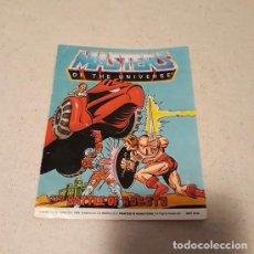 """Figuras Masters del Universo: MINI CÓMIC """"THE BATTLE OF ROBOTO"""" (MOTU 1984) ¡USADO!. Lote 233621345"""