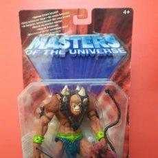 Figure Masters del Universo: FIGURA BEAST MAN DE MASTERS DEL UNIVERSO MOTU MATTEL EN BLISTER CAJA 200X. Lote 234132420