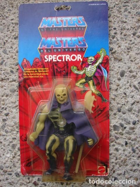SPECTROR - SCARE GLOW - MASTERS DEL UNIVERSO (Juguetes - Figuras de Acción - Master del Universo)
