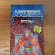 Figuras Masters del Universo: FIGURA ARTICULADA BEAST MAN MASTERS DEL UNIVERSO (MASTERS OF THE UNIVERSE) MATTEL. Lote 235270620