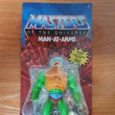 Figuras Masters del Universo: FIGURA ARTICULADA MAN AT ARMS MASTERS DEL UNIVERSO (MASTERS OF THE UNIVERSE) MATTEL. Lote 235271240