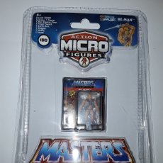 Figuras Masters del Universo: FIGURA HE-MAN MASTERS DEL UNIVERSO WORLD´S SMALLEST MINI FIGURA 3 CM. Lote 235272125