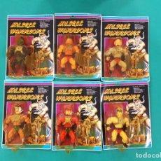 Figuras Masters del Universo: MUSCLE WARRIORS - KNOCK OFF, BOOTLEG MASTERS UNIVERSO - LOTE DE 6 FIGURAS. Lote 277241533