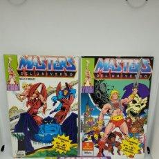 Figuras Masters del Universo: COMICS MASTERS DEL UNIVERSO SEGUNDA ETAPA COMPLETA. NUMEROS 1 AL 9. EXCELENTE ESTADO. SIN LEER.. Lote 239462815