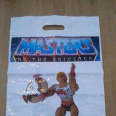 Figuras Masters del Universo: BOLSA DE TIENDA MASTERS DEL UNIVERSO - HEMAN - 34 X 46 CM - RAREZA. Lote 241279630