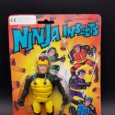 Figuras Masters del Universo: NINJA INSECTS - SECTAURS BOOTLEGS - KNOCK OFF - MASTERS DEL UNIVERSO - RARA. Lote 243558180