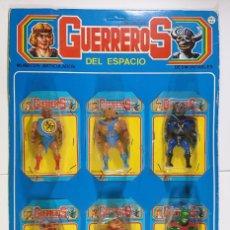 Figuras Masters del Universo: GUERREROS DEL ESPACIO - BOOTLEGS DE MASTERS DEL UNIVERSO FABRICADOS EN ESPAÑA POR FARMEN - MOTU. Lote 243601195