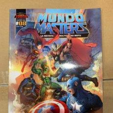 Figuras Masters del Universo: MUNDO MASTERS 8 REVISTA MASTERS DEL UNIVERSO. Lote 243790830