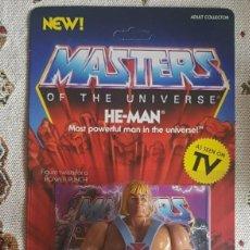 Figuras Masters del Universo: HE-MAN MOTU NEOVINTAGE MASTERS DEL UNIVERSO NUEVO NEW SUPER7. Lote 243841735