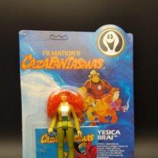 Figuras Masters del Universo: CAZAFANTASMAS - GHOSTBUSTERS- FILMATION 1985 - COMANSI - YESICA BRAI - PERFECT CARD UNPUNCHED. Lote 243914800