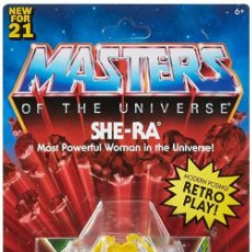 Figuras Masters del Universo: SHE-RA MASTERS OF THE UNIVERSE ORIGINS MATTEL HE-MAN. Lote 244547100