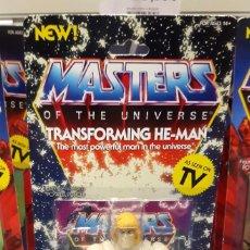 Figuras Masters del Universo: TRANSFORMING HE-MAN FIGURA MASTERS DEL UNIVERSO SUPER7 RARA. Lote 244834280