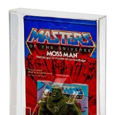 Figuras Masters del Universo: CAJA ACRÍLICA EXPOSICIÓN BLÍSTERS MOTU / MASTERS DEL UNIVERSO VINTAGE, SUPER7 Y ORIGINS - SUPER 7. Lote 246278190