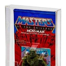 Figuras Masters del Universo: 5 X CAJA ACRÍLICA EXPOSICIÓN BLÍSTERS MOTU / MASTERS DEL UNIVERSO VINTAGE, SUPER7 Y ORIGINS SUPER 7. Lote 246278620