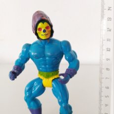 Figuras Masters del Universo: SKELETOR BOOTLEG CABEZA ALIEN MEXICO MASTERS UNIVERSO MOTU FIGURA ACCIÓN MUÑECO VINTAGE. Lote 246279360