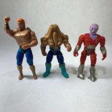 Figuras Masters del Universo: LOTE TORTUGAS NINJA 1988 + MUCKMAN 1990 + ARMAS Y ACCESORIOS - MIRAGE STUDIOS. Lote 250321040