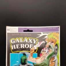 Figuras Masters del Universo: GALAXY HEROES BLACK KNIGHT WITH DRAGON · MOTU KO · KNOCK OFF BOOTLEG MASTERS DEL UNIVERSO DIFICIL. Lote 251631900