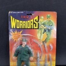 Figuras Masters del Universo: THE WORRIORS POSABLE ACTION FIGURE MUY RARA MADE IN HONG KONG. Lote 251975900