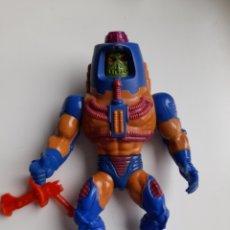 Figuras Masters del Universo: MAN-E-FACE COMPLETO CON ARMA MOTU MASTERS DEL UNIVERSO. Lote 253706750