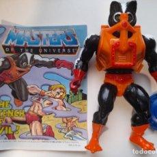 Figuras Masters del Universo: STINKOR CON ARMA Y COMIC MOTU MASTERS DEL UNIVERSO. Lote 253927315