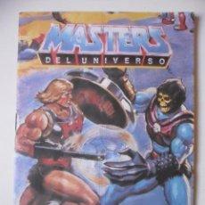Figuras Masters del Universo: MASTERS DEL UNIVERSO CATALOGO DE JUGUETES MATTEL ESPAÑA 1987. Lote 262553255