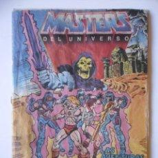 Figuras Masters del Universo: MASTERS DEL UNIVERSO LAS AVENTURAS DE MAN-E-FACES MINI COMIC MATTEL ESPAÑA 1985. Lote 262553975