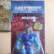 Figuras Masters del Universo: FIGURA ARTICULADA MASTERS OF THE UNIVERSE: SKELETOR (MATTEL). Lote 263029595