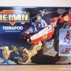 Figuras Masters del Universo: HE-MAN MOTU NUEVAS AVENTURAS TERRAPOD MATTEL ESPAÑA 1990. Lote 263175165