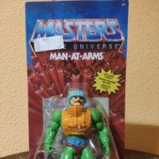 Figuras Masters del Universo: FIGURA ARTICULADA MASTERS OF THE UNIVERSE: MAN-AT-ARMS (MATTEL). Lote 263211210